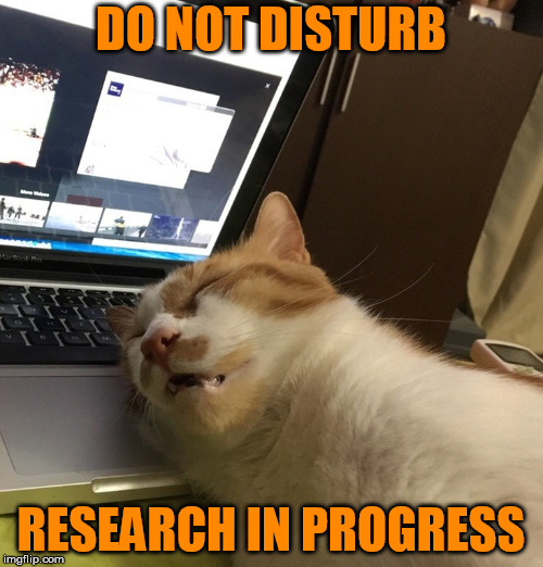 DO NOT DISTURB RESEARCH IN PROGRESS | made w/ Imgflip meme maker