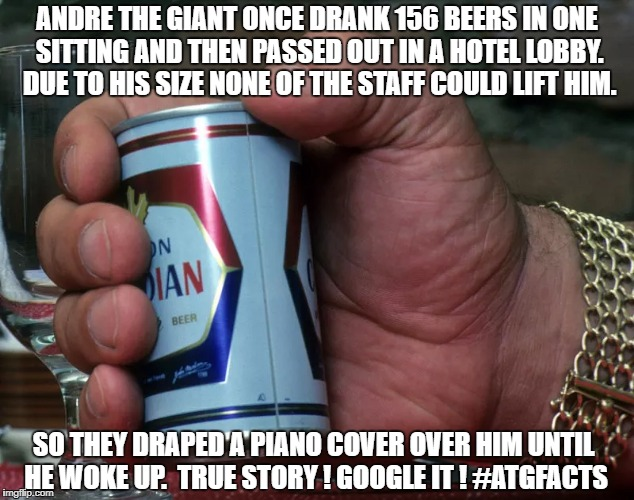 "I wonder who ""picked up"" his bar tab.. 