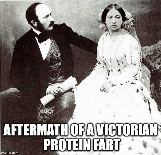 AFTERMATH OF A VICTORIAN PROTEIN FART | image tagged in gym,protein,fart | made w/ Imgflip meme maker