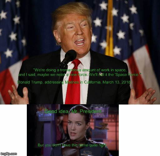 My tribute to Claudia Christian today | . . | image tagged in babylon 5 | made w/ Imgflip meme maker