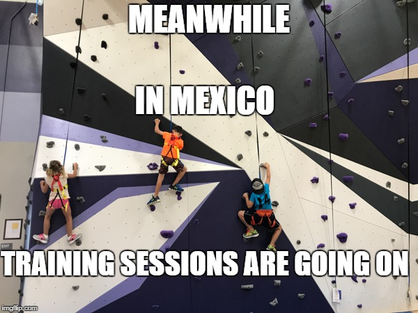 FOR TRUMPS WALL | MEANWHILE IN MEXICO TRAINING SESSIONS ARE GOING ON | image tagged in zohaib,mexico,succesful mexican,donald trump,trump wall | made w/ Imgflip meme maker