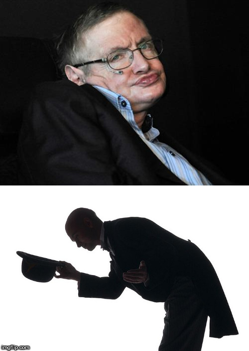 R.I.P. | image tagged in stephen hawking,rip,rest in peace | made w/ Imgflip meme maker