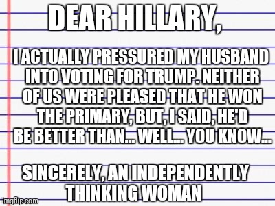 "And, his ""economic interest"" happens to be my ""economic interest"" 