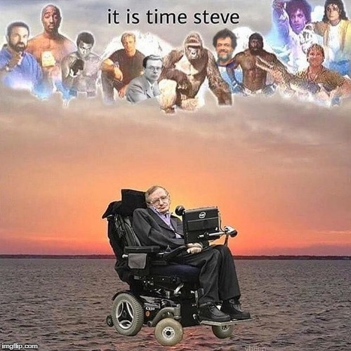 staphen hawking | image tagged in stephen hawking | made w/ Imgflip meme maker