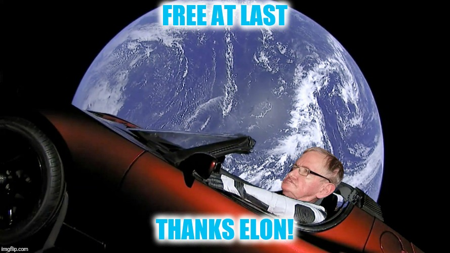 FREE AT LAST THANKS ELON! | made w/ Imgflip meme maker