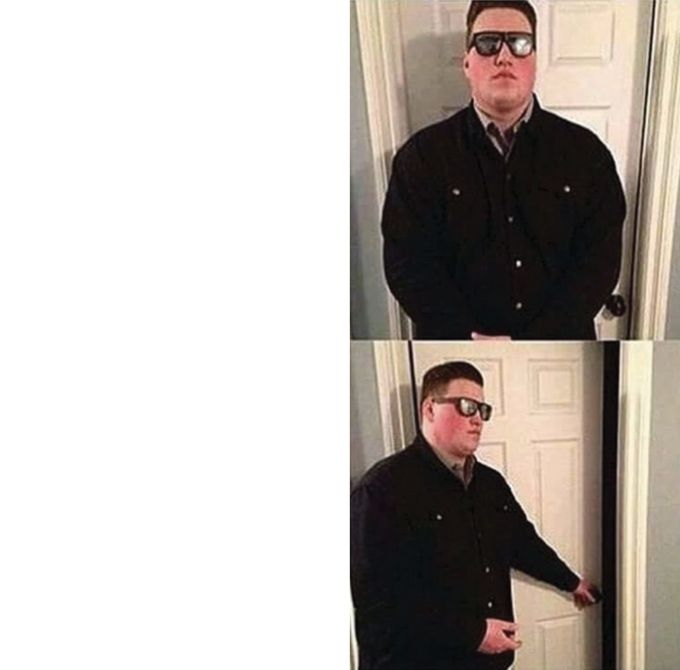 Persuadable Bouncer Blank Meme Template