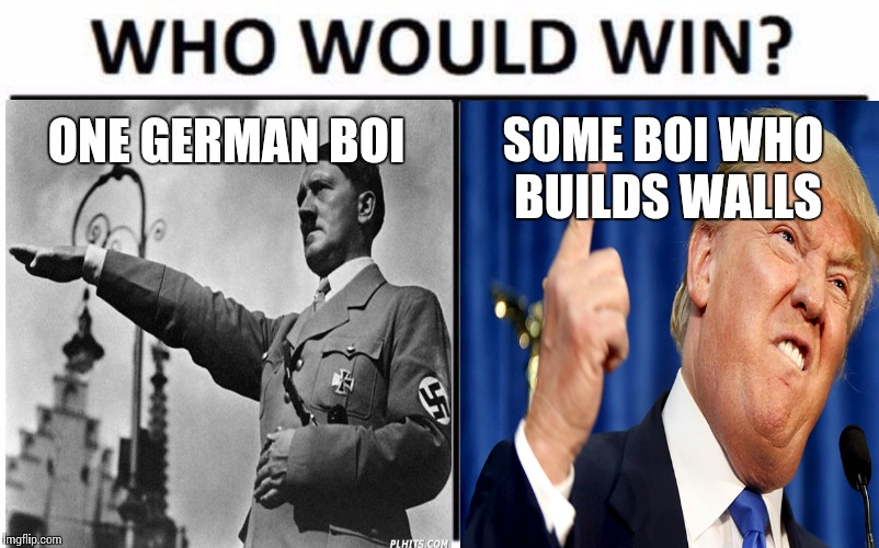 ONE GERMAN BOI SOME BOI WHO BUILDS WALLS | image tagged in memes | made w/ Imgflip meme maker