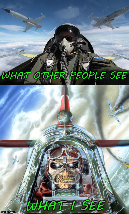 WHAT OTHER PEOPLE SEE WHAT I SEE | made w/ Imgflip meme maker