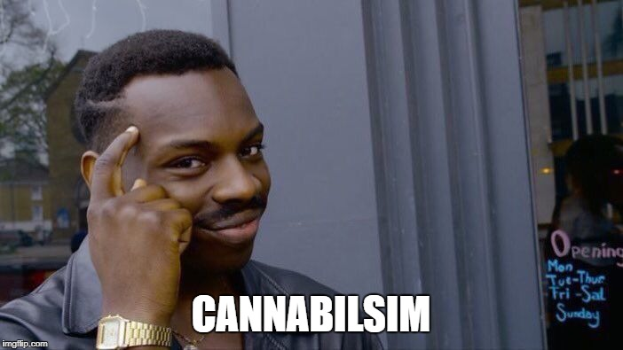 Roll Safe Think About It Meme | CANNABILSIM | image tagged in memes,roll safe think about it | made w/ Imgflip meme maker