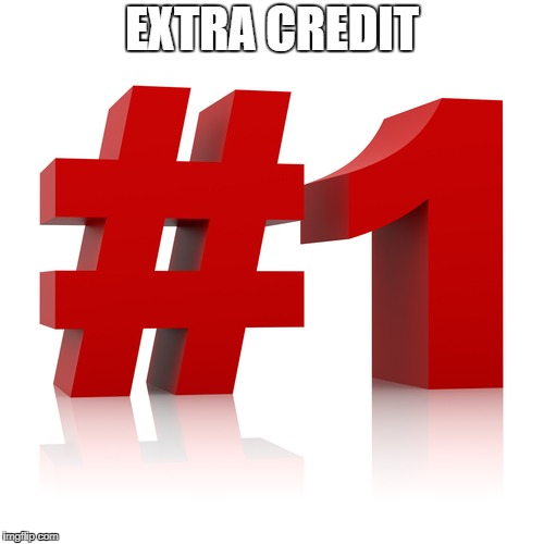 EXTRA CREDIT | image tagged in ec1 | made w/ Imgflip meme maker