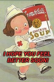 Nurse Campbell | I HOPE YOU FEEL BETTER SOON! | image tagged in nurse campbell | made w/ Imgflip meme maker