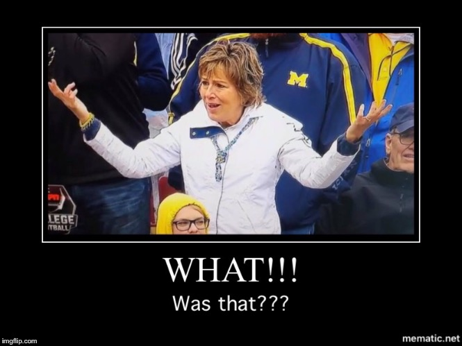 image tagged in michigan football | made w/ Imgflip meme maker