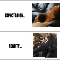 Expectation vs Reality | image tagged in expectation vs reality | made w/ Imgflip meme maker