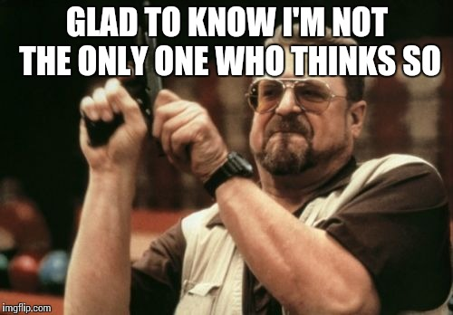 Am I The Only One Around Here Meme | GLAD TO KNOW I'M NOT THE ONLY ONE WHO THINKS SO | image tagged in memes,am i the only one around here | made w/ Imgflip meme maker