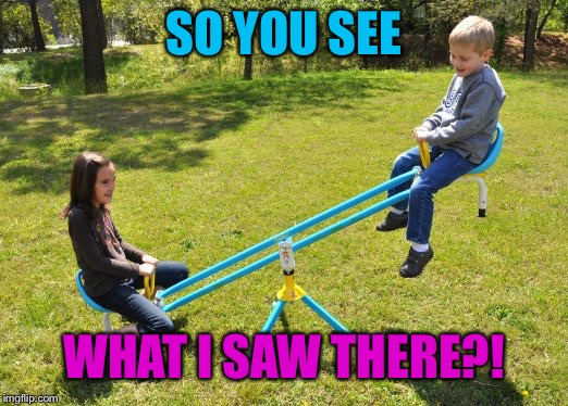 SO YOU SEE WHAT I SAW THERE?! | made w/ Imgflip meme maker