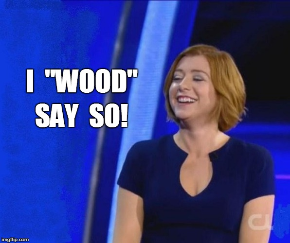 I  ''WOOD'' SAY  SO! | made w/ Imgflip meme maker