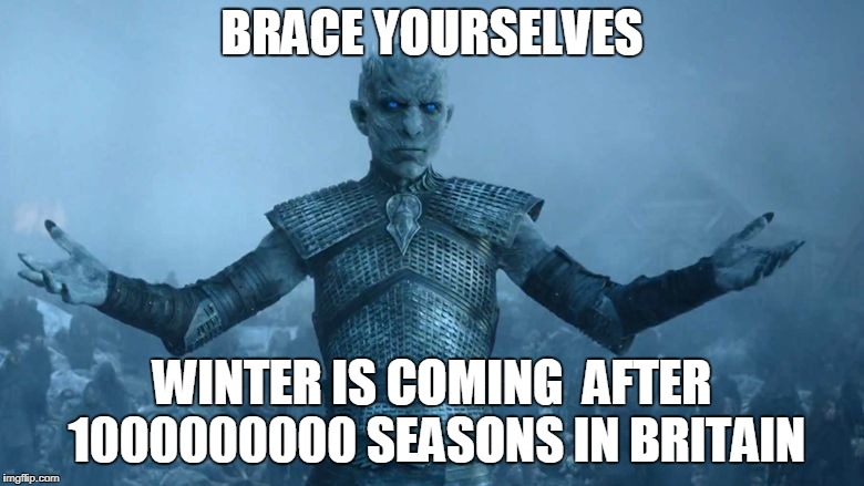 Image tagged in winter is coming reddit - Imgflip