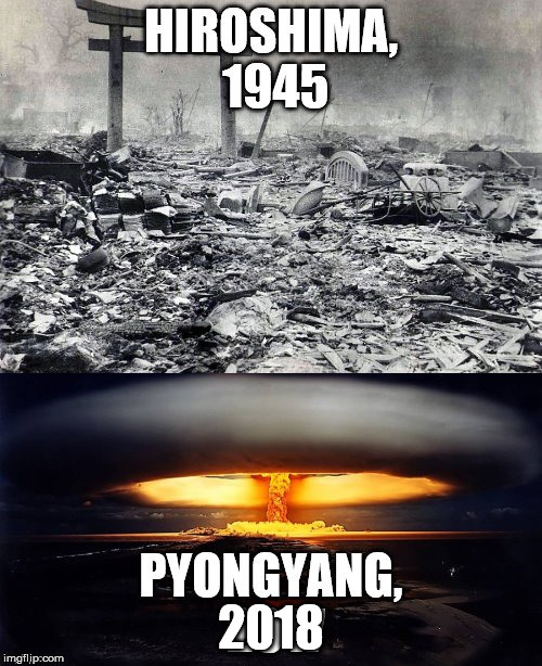 2018 | image tagged in pyongyang | made w/ Imgflip meme maker