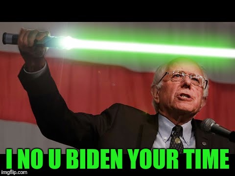 I NO U BIDEN YOUR TIME | made w/ Imgflip meme maker
