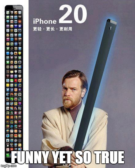 Iphone in 10 years time | FUNNY YET SO TRUE | image tagged in iphone | made w/ Imgflip meme maker