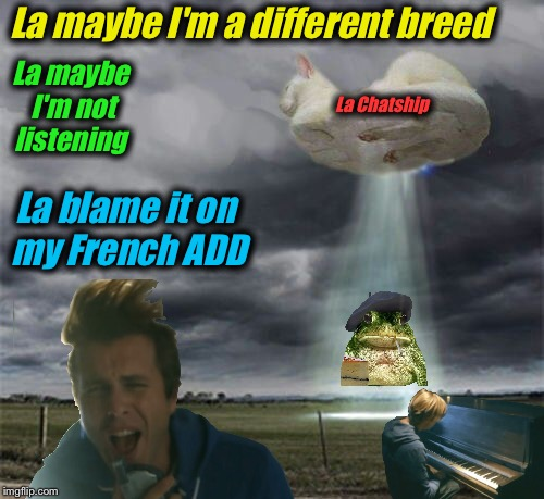 "La DashHopes & La Chatship (An Awolnation® ""Sail""©appropriation!) 