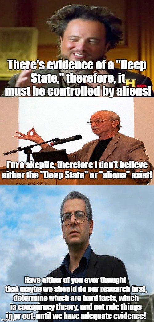 Deep State and Aliens?