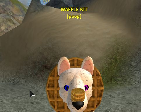 Waffle Form Wolves Life 3 Pls Cheak Out It On Roblox I Didnt