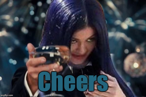Kylie Cheers | Cheers | image tagged in kylie cheers | made w/ Imgflip meme maker