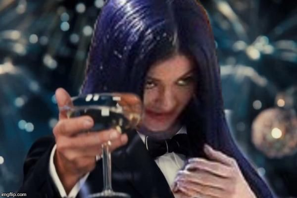 Kylie Cheers | :) | image tagged in kylie cheers | made w/ Imgflip meme maker