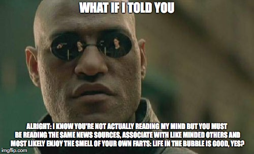 Matrix Morpheus Meme | WHAT IF I TOLD YOU ALRIGHT: I KNOW YOU'RE NOT ACTUALLY READING MY MIND BUT YOU MUST BE READING THE SAME NEWS SOURCES, ASSOCIATE WITH LIKE MI | image tagged in memes,matrix morpheus | made w/ Imgflip meme maker