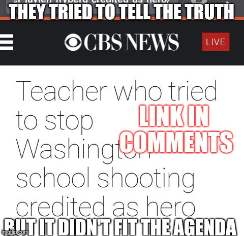 The News *Almost* Got It Right | THEY TRIED TO TELL THE TRUTH BUT IT DIDN'T FIT THE AGENDA LINK IN COMMENTS | image tagged in tried to truth,fake news,memes,superhero | made w/ Imgflip meme maker