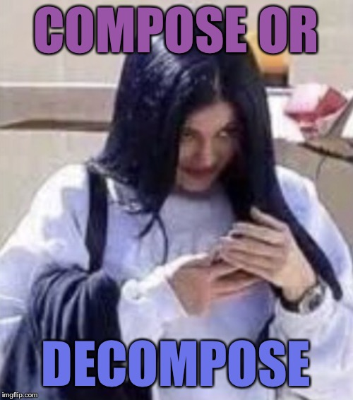 Mima | COMPOSE OR DECOMPOSE | image tagged in mima | made w/ Imgflip meme maker