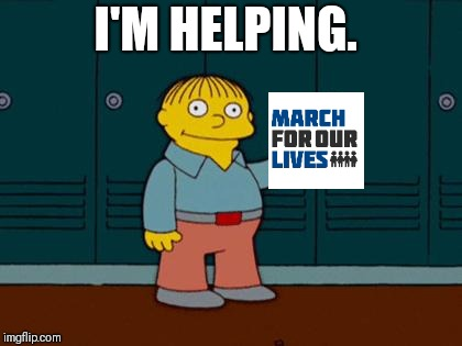 ralph wiggum |  I'M HELPING. | image tagged in ralph wiggum | made w/ Imgflip meme maker