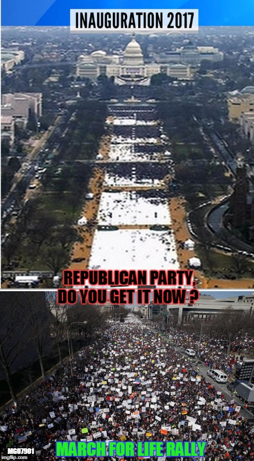 MARCH FOR LIFE RALLY REPUBLICAN PARTY, DO YOU GET IT NOW ? MG07901 | image tagged in march,guns,ar-15,donald trump | made w/ Imgflip meme maker