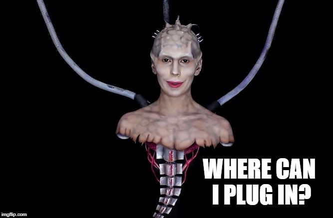 WHERE CAN I PLUG IN? | made w/ Imgflip meme maker