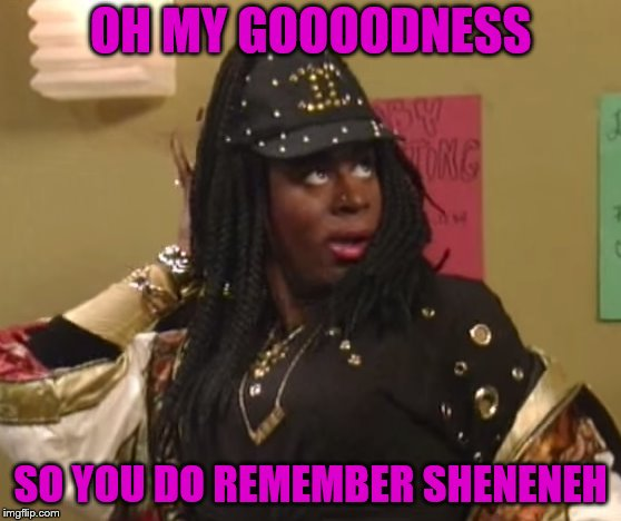 OH MY GOOOODNESS SO YOU DO REMEMBER SHENENEH | made w/ Imgflip meme maker