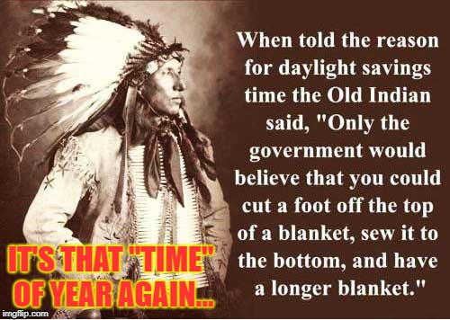 "Daylight ""Savings"" Time 