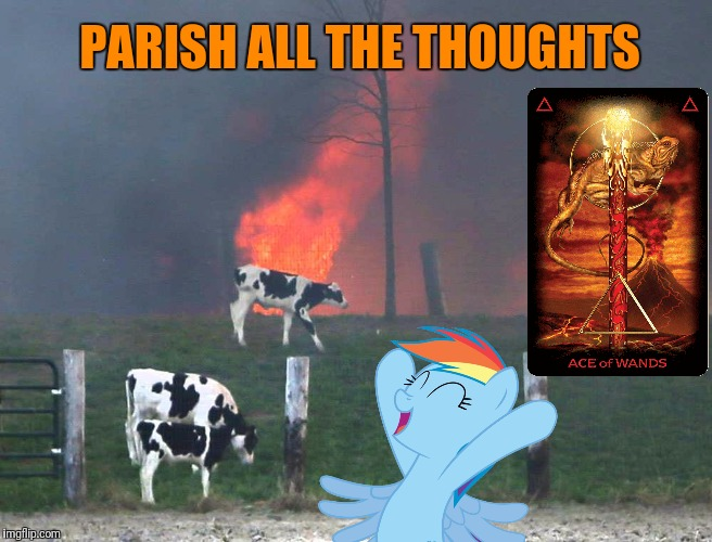 PARISH ALL THE THOUGHTS | made w/ Imgflip meme maker