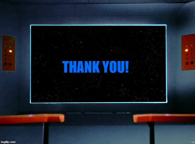 on screen | THANK YOU! | image tagged in on screen | made w/ Imgflip meme maker