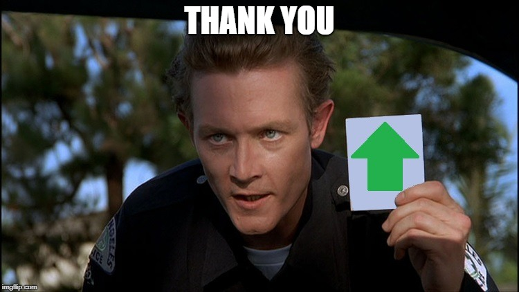 t2 | THANK YOU | image tagged in t2 | made w/ Imgflip meme maker