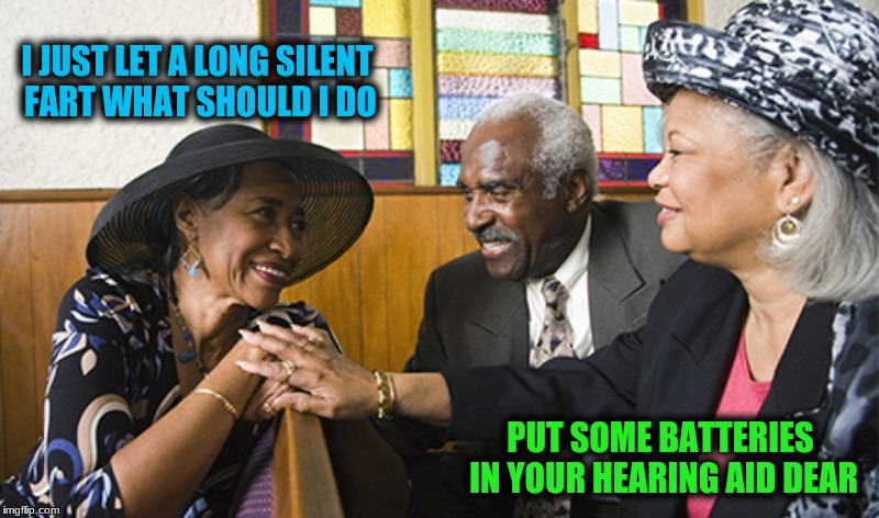 Well that blows | I JUST LET A LONG SILENT FART WHAT SHOULD I DO PUT SOME BATTERIES IN YOUR HEARING AID DEAR | image tagged in memes,can you hear me now | made w/ Imgflip meme maker