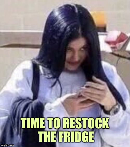 Mima | TIME TO RESTOCK THE FRIDGE | image tagged in mima | made w/ Imgflip meme maker