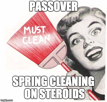 It's that time again! | PASSOVER SPRING CLEANING ON STEROIDS | image tagged in compulsive cleaning,passover,steroids,cleaning,religion,jewish | made w/ Imgflip meme maker