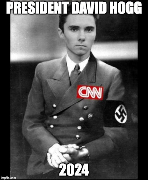David Hogg | PRESIDENT DAVID HOGG 2024 | image tagged in david hogg | made w/ Imgflip meme maker