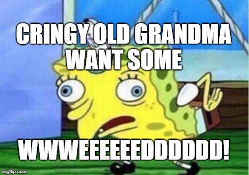 You want some crack spongebob female