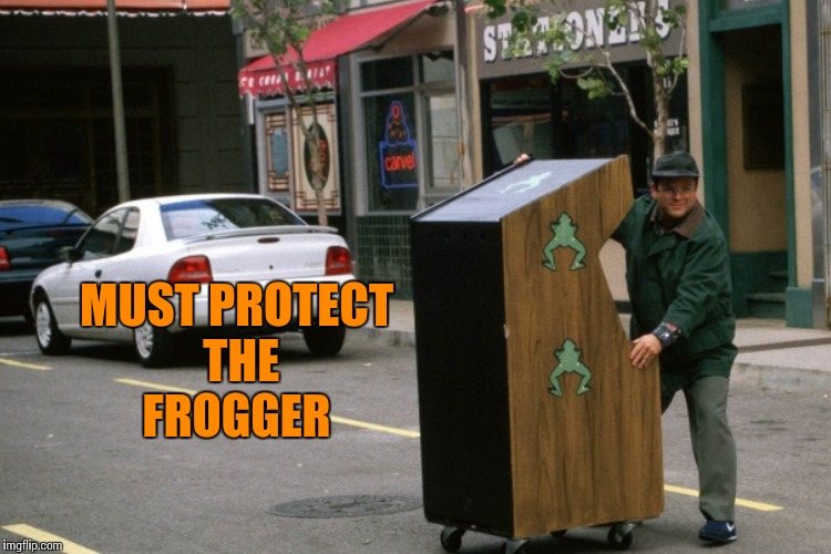 MUST PROTECT THE FROGGER | made w/ Imgflip meme maker