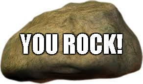 YOU ROCK! | made w/ Imgflip meme maker