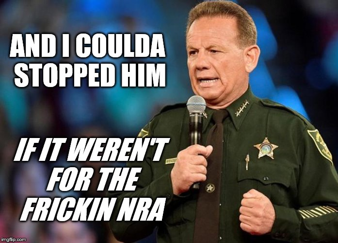 AND I COULDA STOPPED HIM IF IT WEREN'T FOR THE FRICKIN NRA | image tagged in nra | made w/ Imgflip meme maker