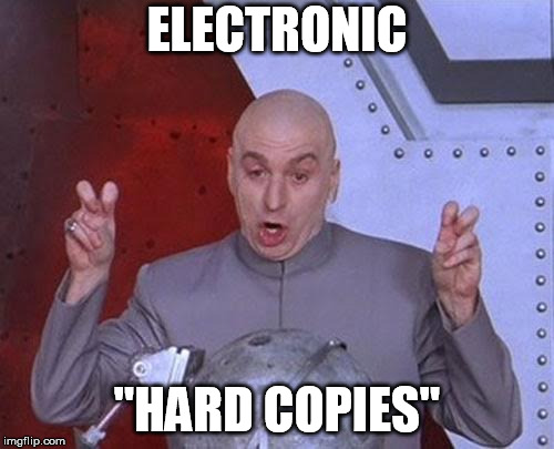 "twss | ELECTRONIC ""HARD COPIES"" 