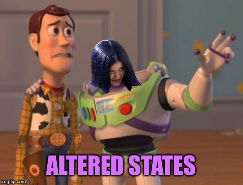 Mima everywhere | ALTERED STATES | image tagged in mima everywhere | made w/ Imgflip meme maker
